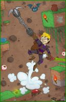 Dig Down Deeper: Terraria by randomartist