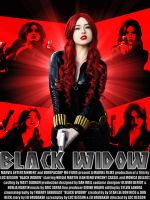 Black Widow cosplay poster by SWFan1977