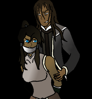 Korra and Tarrlok by Furyhero