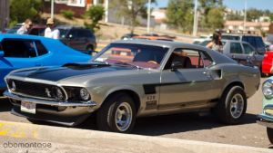 Ford Mustang 1969 motor 428 by abomontage