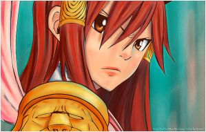 Erza Scarlet - Nakagami - Chapter 322 by Erian-7
