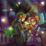 20K Kiriban: Link and Agitha by Rinkuchan27