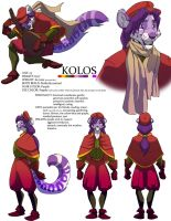 Kolos Model Sheet by FablePaint