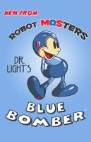 Blue Bomber Classic by ninjaink