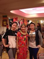 Three of my international students by MarMicheal