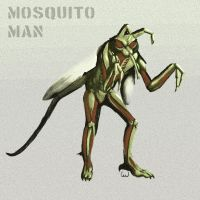 mosquito man by CAWalizer