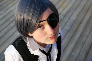 Ciel Phantomhive Cosplay-Up by dawnleapord