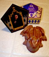 The Chocolate Frog and Salazar by MistressBlackwater