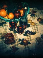 Fruits and Wine by lomocotion