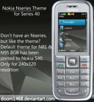 Nokia Nseries Theme for S40 by ChocSoldier