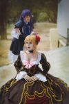 Beatrice and Bernkastel Umineko cosplay by MissWeirdCat