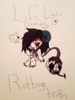 Life-less demon of rotting truth by evil-vivianne