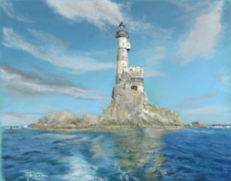 lighthouse by Danny-art