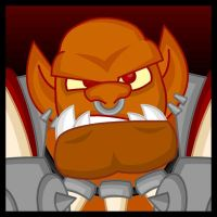 WoW:  Garrosh Hellscream by LegendaryFrog