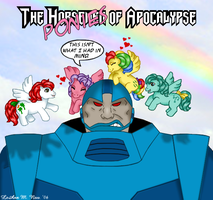 My Little Apocalypse Ponies by ForeverRogue