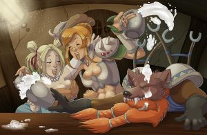 We three friends of Ironforge by lookitsthemoon