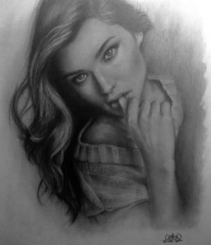 pencils on paper a4 by wahsyuck