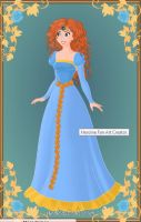 Merida wedding gown by monsterhighlover3