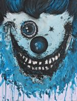 The Blue Clown by UrsulaMS