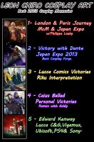 LEON CHIRO COSPLAY ART - MY TOP COSPLAY MEMO 2013 by LeonChiroCosplayArt