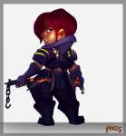 Gnome Rogue by Phosphonian