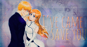 Tag - Ichigo and Orihime by TifaxLockhart