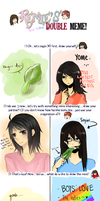 DOUBLE MEME WITH YOME BBY by sayucchi