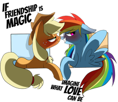 If FRIENDSHIP IS MAGIC,IMAGINE WHAT LOVE CAN BE. by MissPolycysticOvary