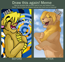 130111 - Draw it Again Meme by Kae-Art