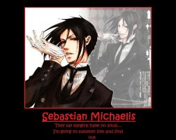 Sebastian Motivational Poster by Twilitdragoneye