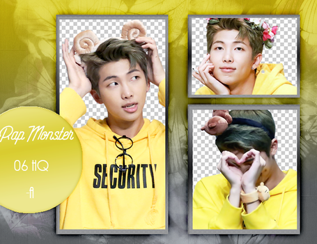 Photopack png 001 | Rap Monster [BTS] by artyixing