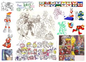 Classic Robot Masters Dump by Super-Mario-Whirled