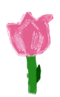 Tulip MS Paint by petermarge