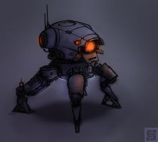 ArtilleryRobot by Callesw