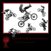 Twisted Mind Moto Cross Brushes Vol 1 by Textures-and-More