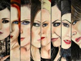 Queens Of Metal by ArtGoldArt