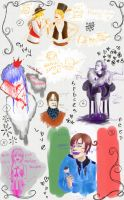 +Sketches+ part one by panna-nat