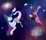 Galaxy Prancing by HazeyEcstasy
