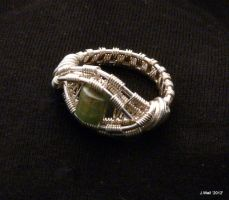 Wire Wrapped  Ring by Jwall805