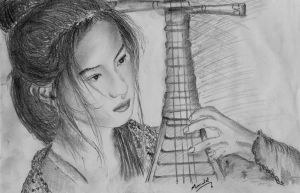 Chinese Drawing by manulal