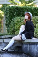 Lounging By The Fountain by OppositeCosplay