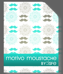 Motivo Moustache Vintage by isfe by Isfe