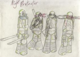 Night Protector Contest Entry~ by TheHalfblood