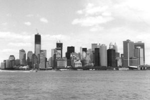 New York Skyline by NicPi