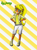 Coco in Yellow by omegacybersilver
