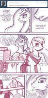 Ask Princess Molestia #078 by krackencareer