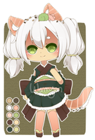 [CLOSED]  Sushi Kitty Adopt by WanNyan