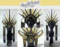 Vegan friendly headdress - SOLD by MissGdesigns