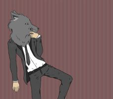 Big Bad Wolf by PaperSquid