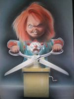 Chucky2 Airbrushed2 by Mathius88